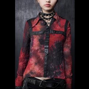 Punk rave hemd Y-294a