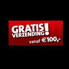 gratis verzending 100