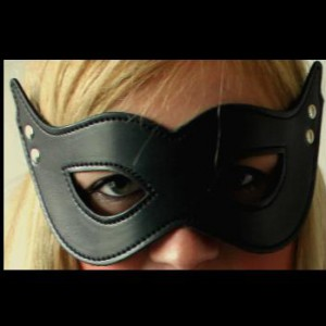 Masker Catwoman leder LC0323